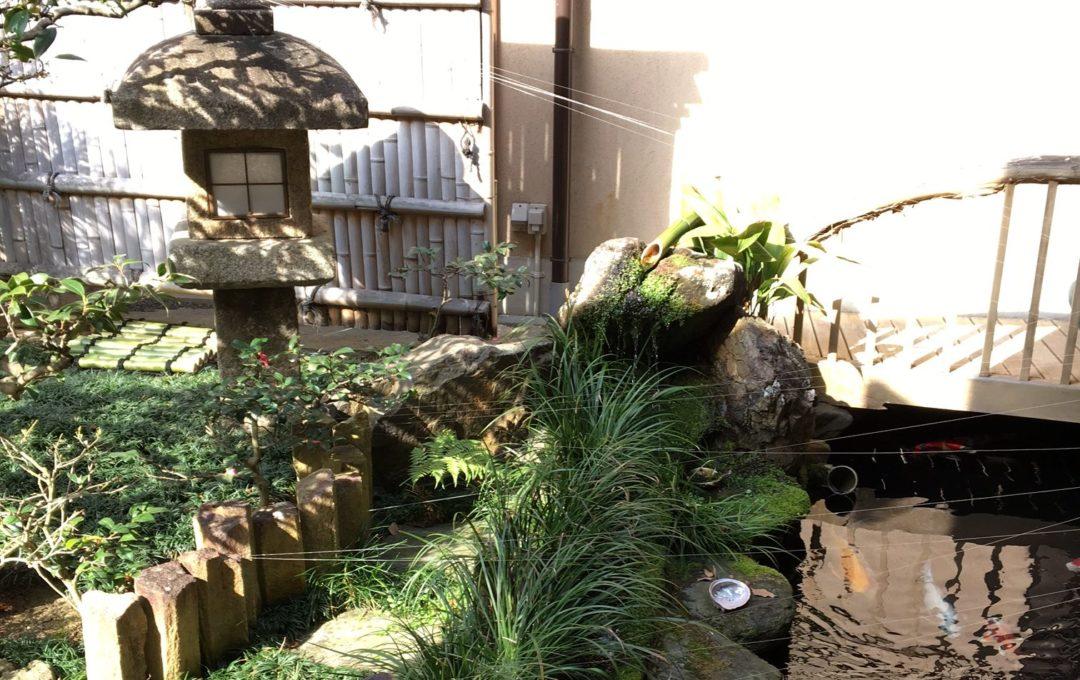 本日、茂山狂言会。京都は好天です!