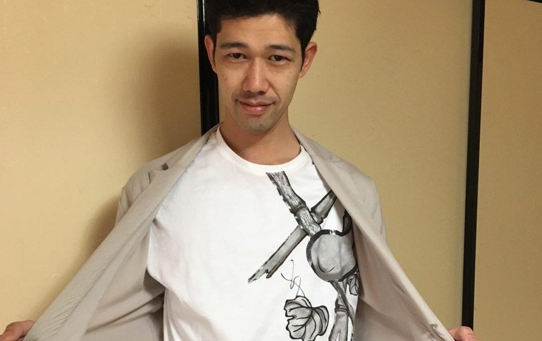 肩衣柄のTシャツ、早速購入!