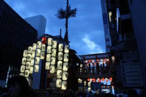 祇園祭生中継のテレビ出演情報です