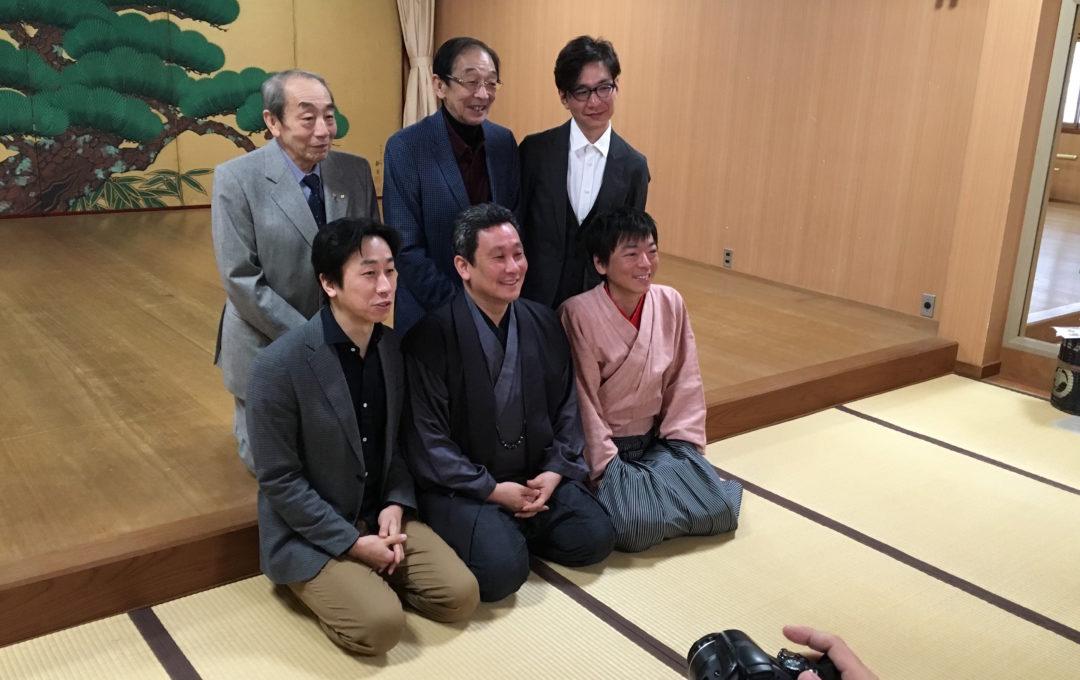 千五郎家にて記者会開催!